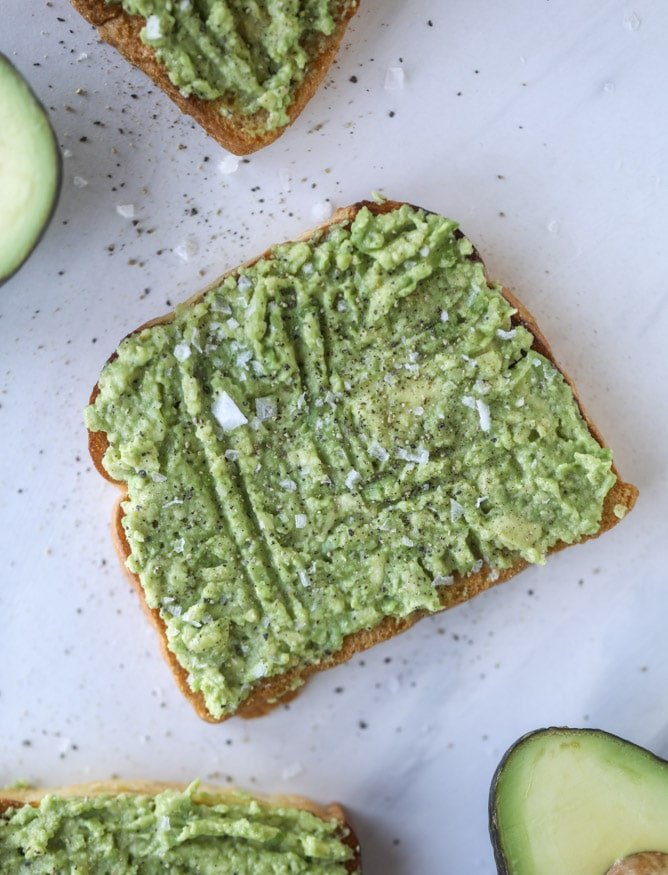 shaved egg avocado toast I howsweeteats.com #avocado #toast #egg #breakfast