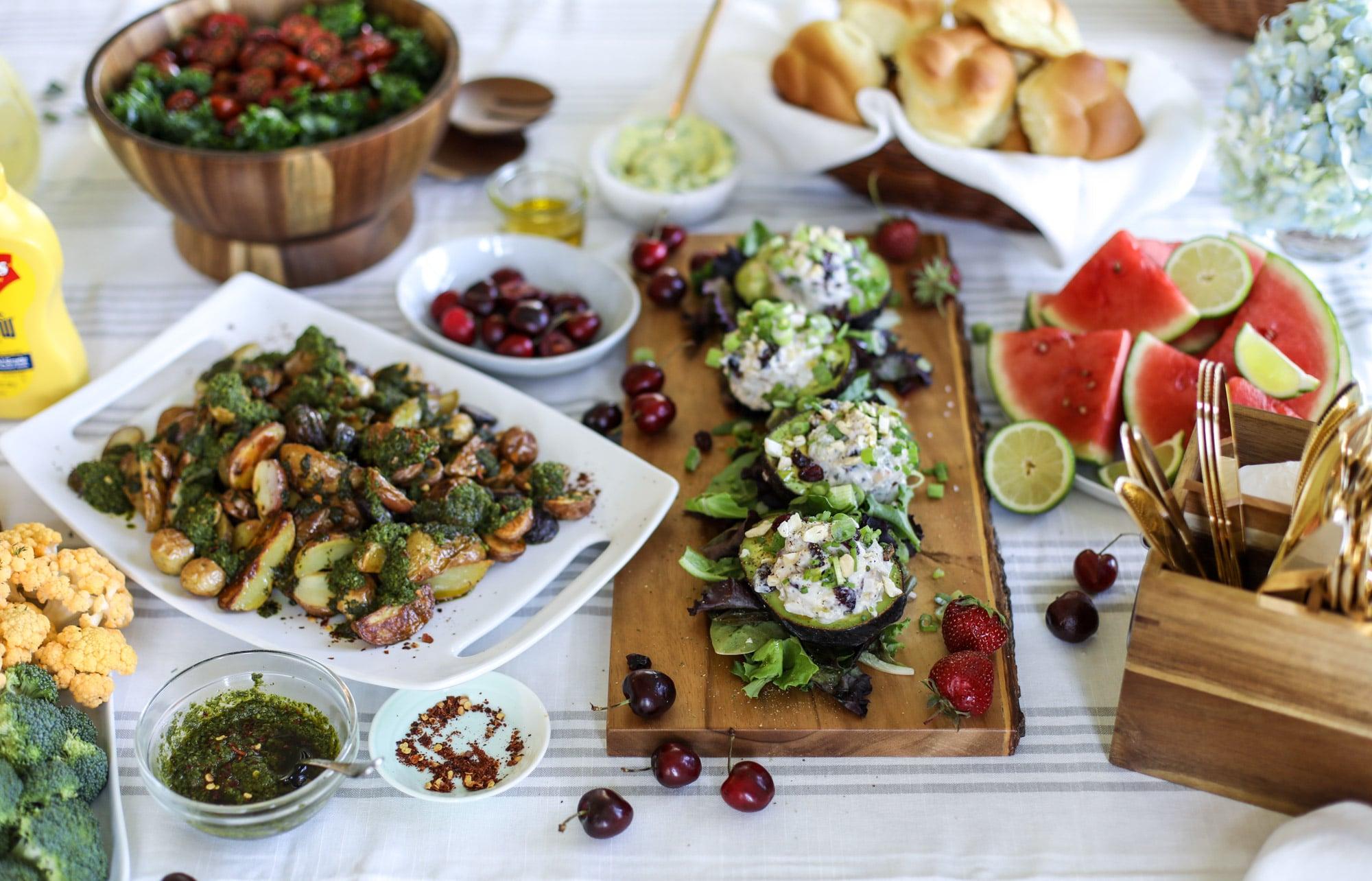 easy summer entertaining recipes I howsweeteats.com #summer #picnic #entertaining #recipes #frenchs