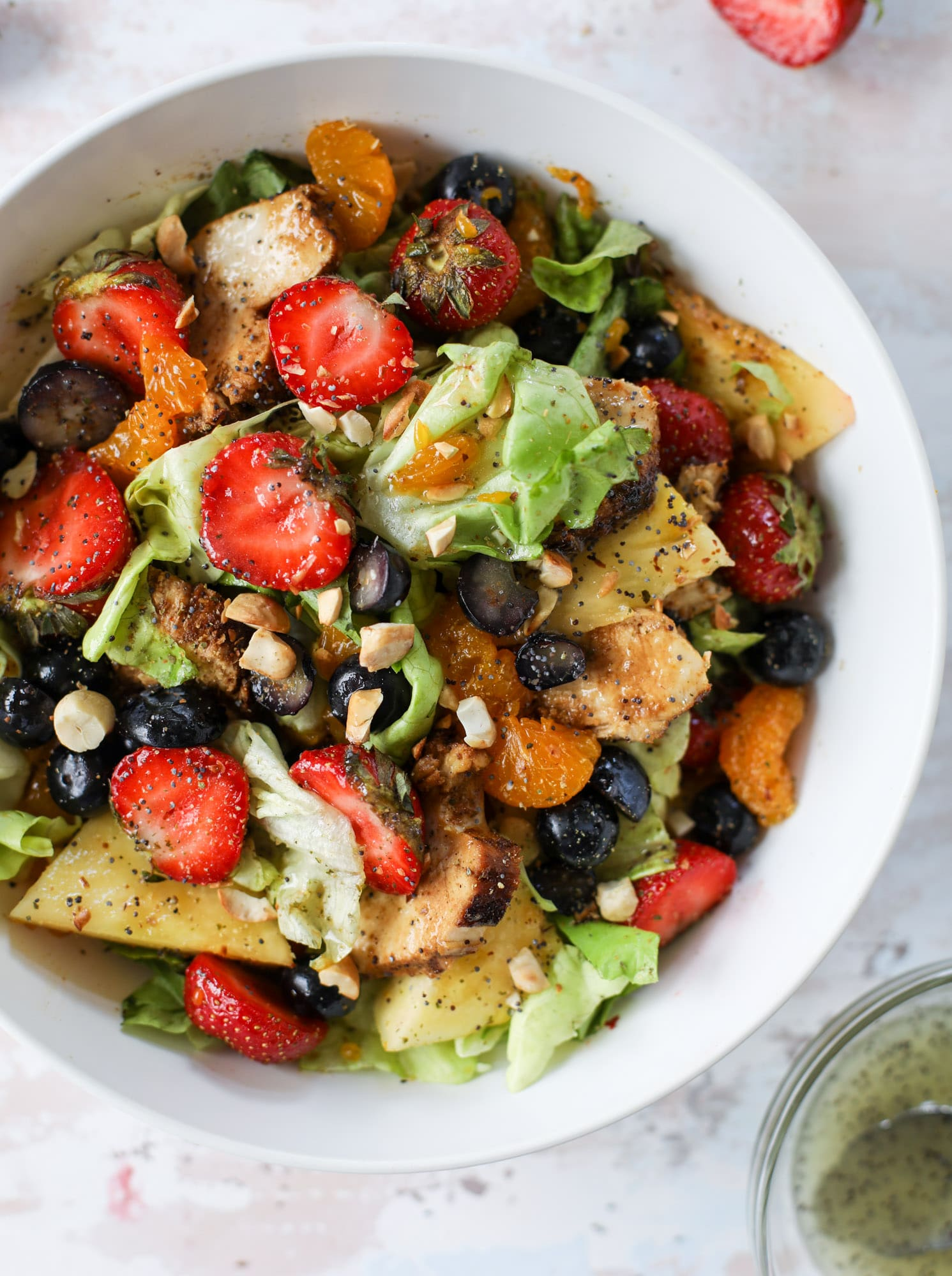 Copycat Panera Strawberry Poppyseed Salad