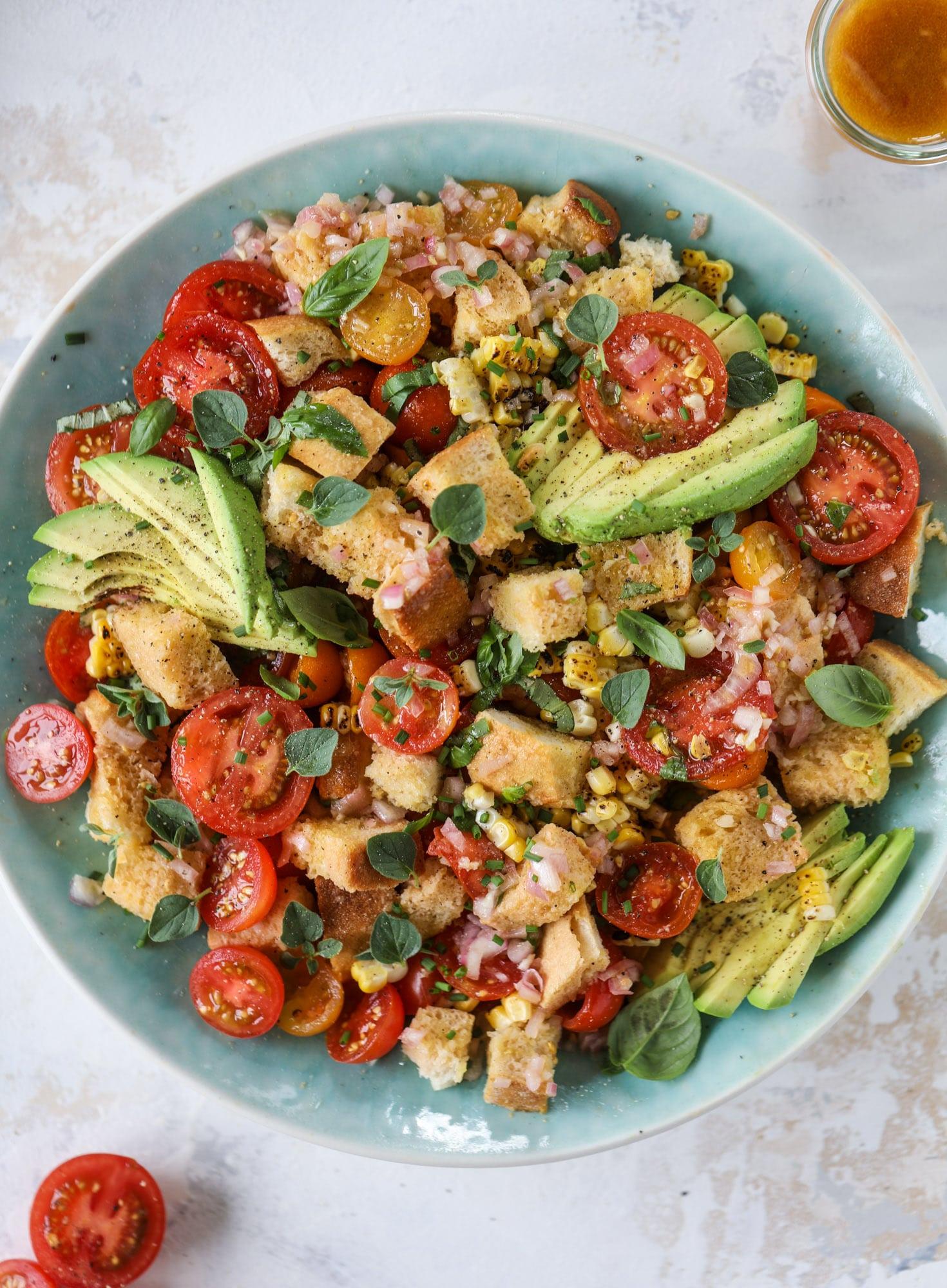 17+ The Best Summer Panzanella Salad Image