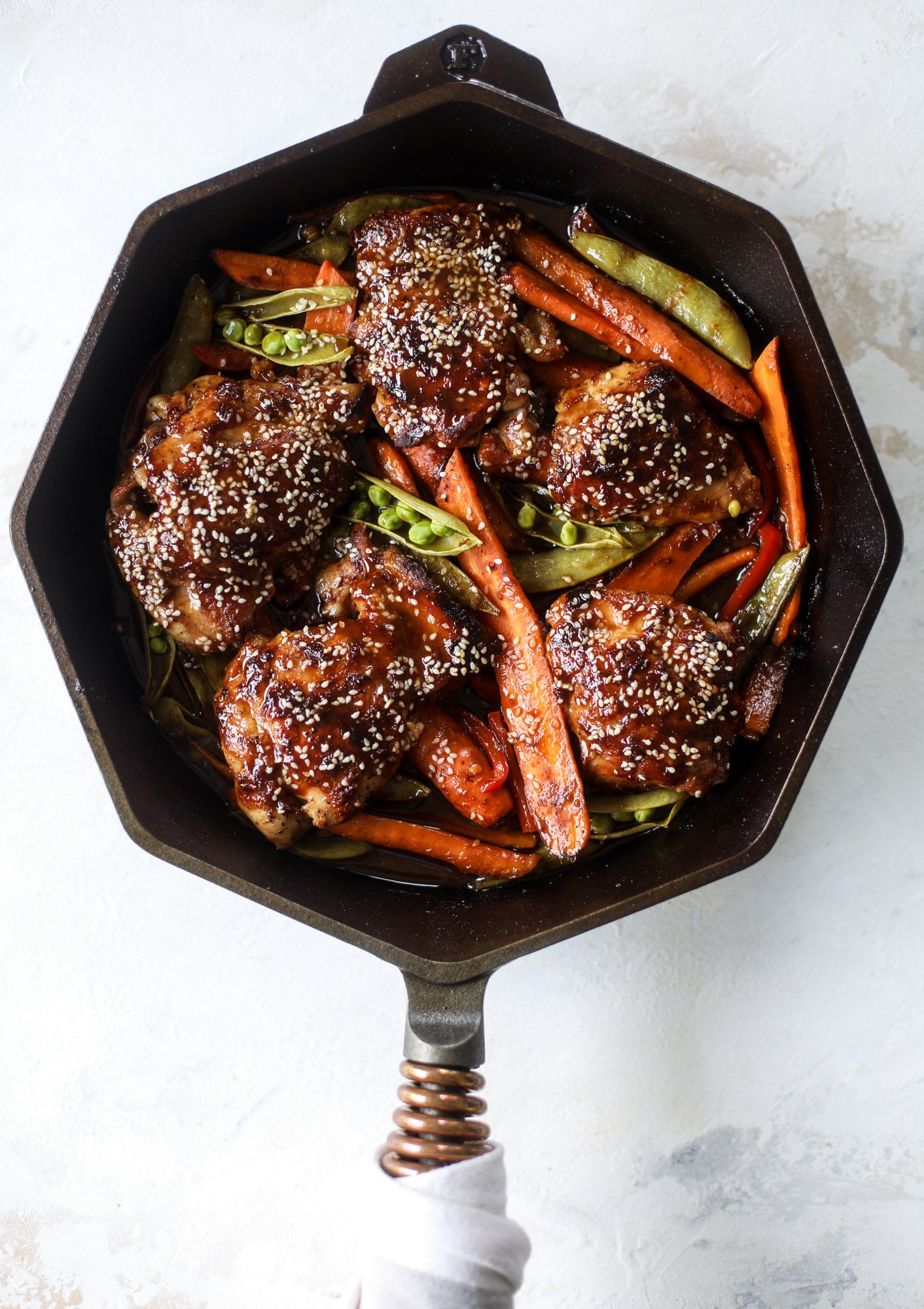 One Pan Sesame Chicken from How Sweet Eats on foodiecrush.com