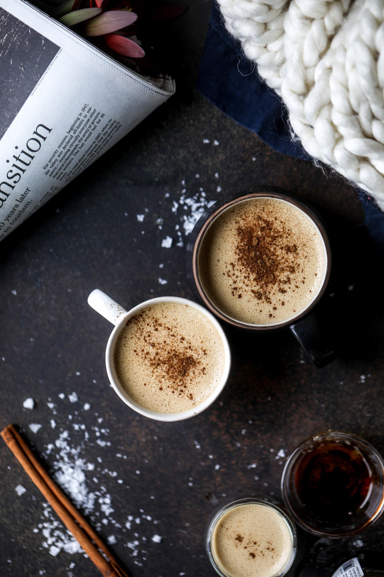 Salted Maple Power Coffee - Coconut Butter Power Coffee