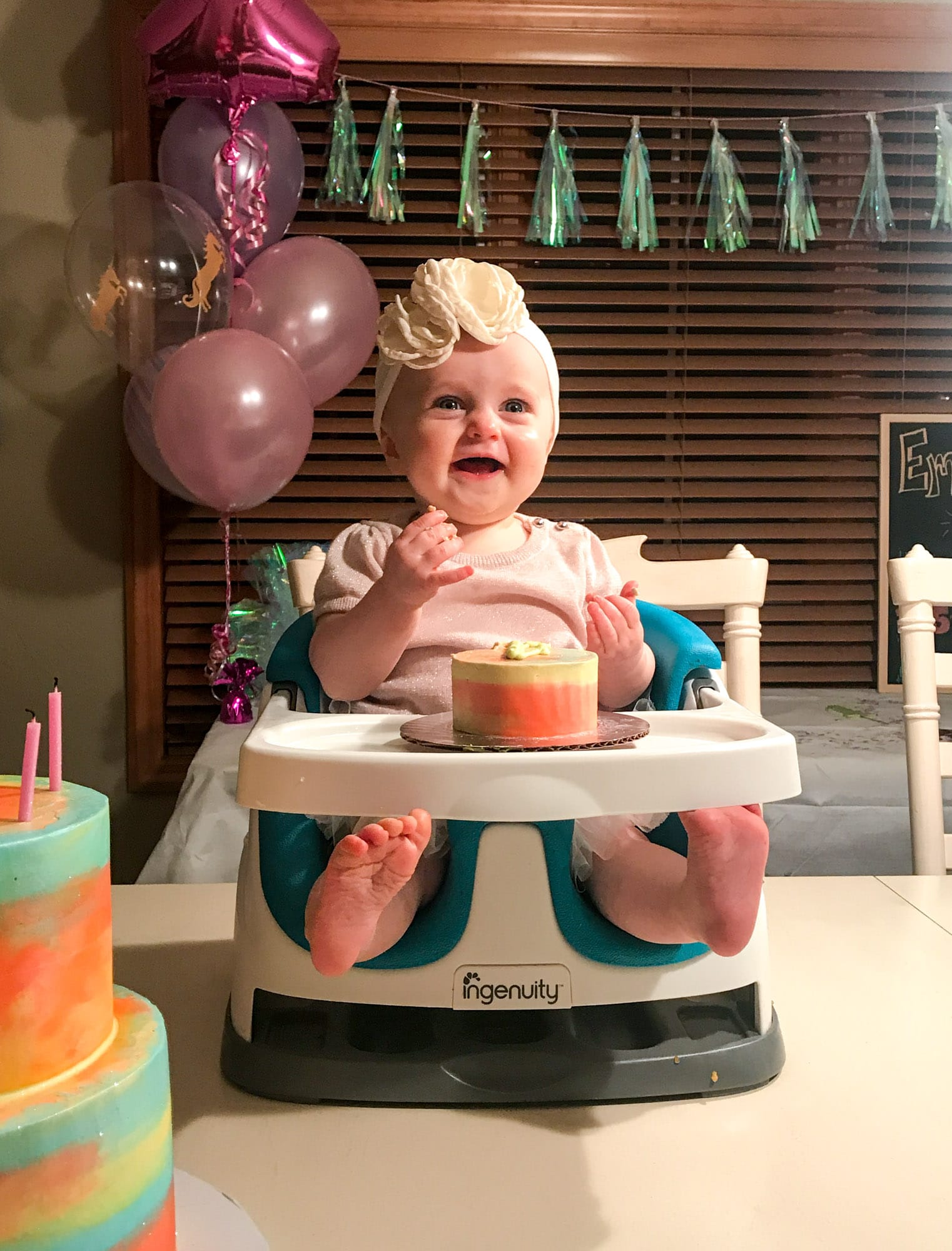 emilia is one year old! I howsweeteats.com