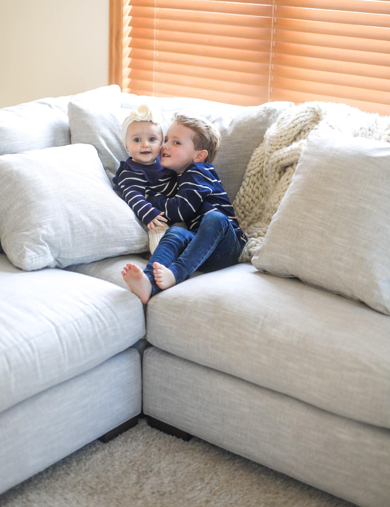 the couch we are obsessed with I howsweeteats.com