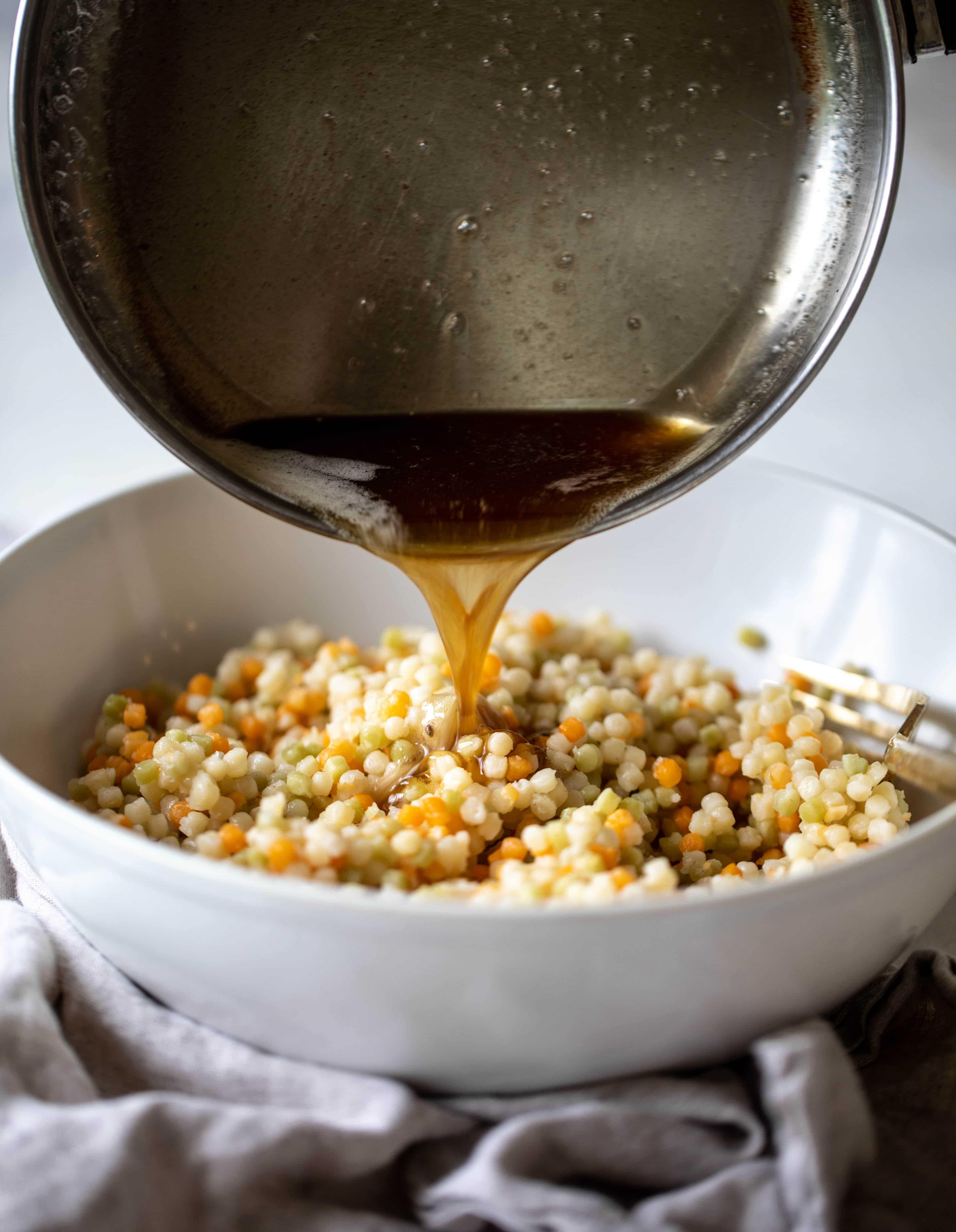 brown butter + couscous