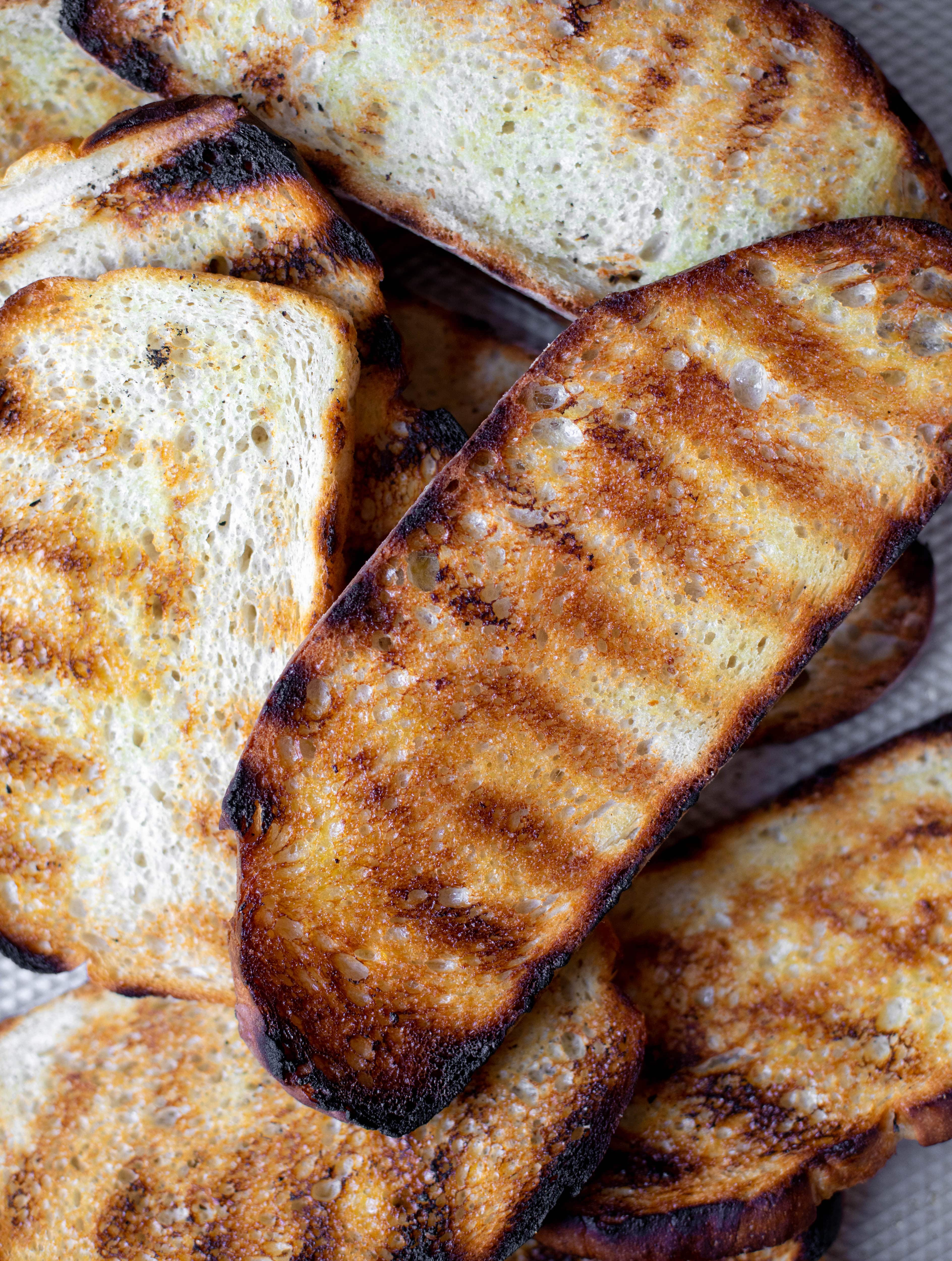 perfect grilled bread