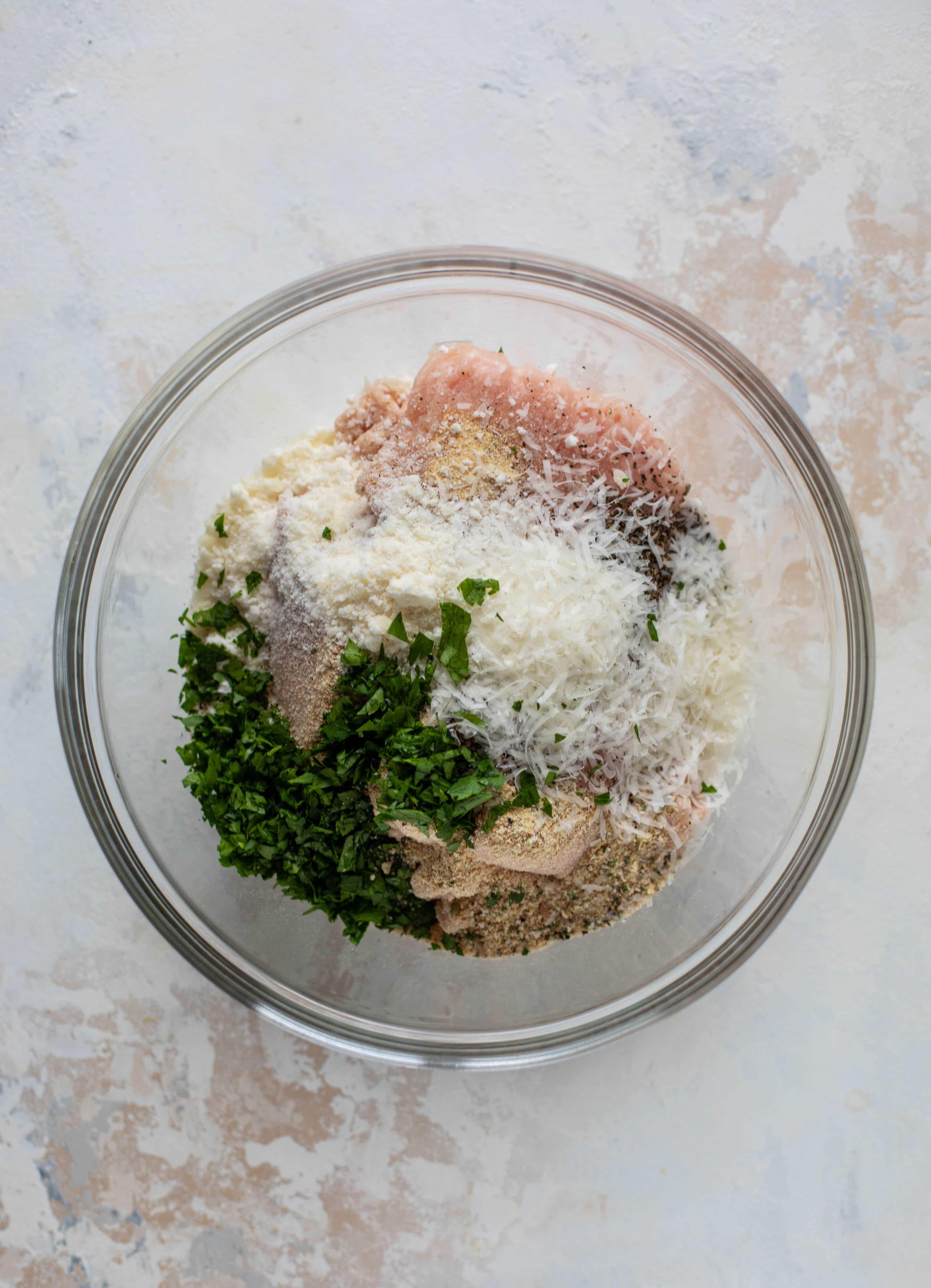 chicken meatball mix