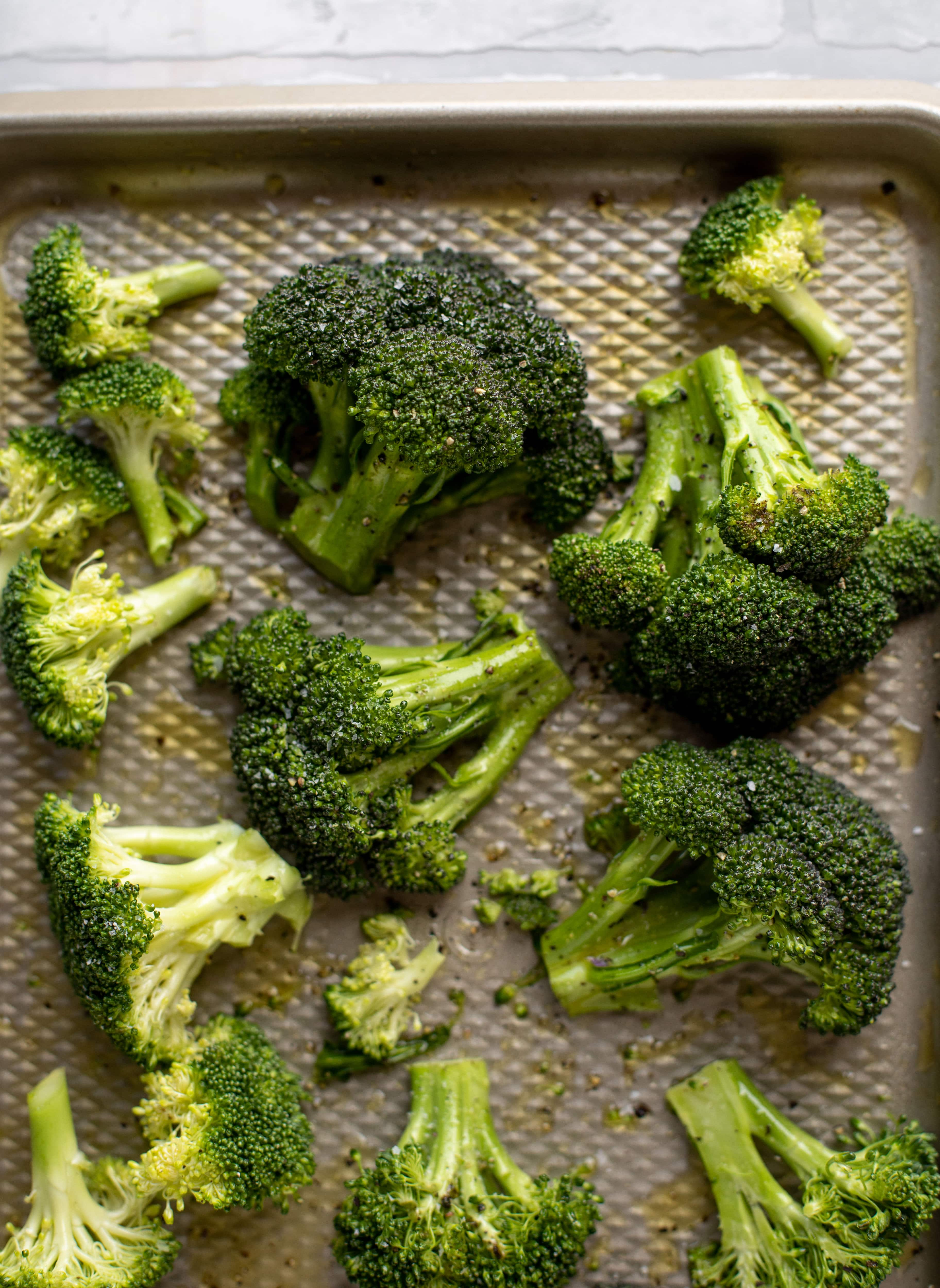 broccoli ready to roast