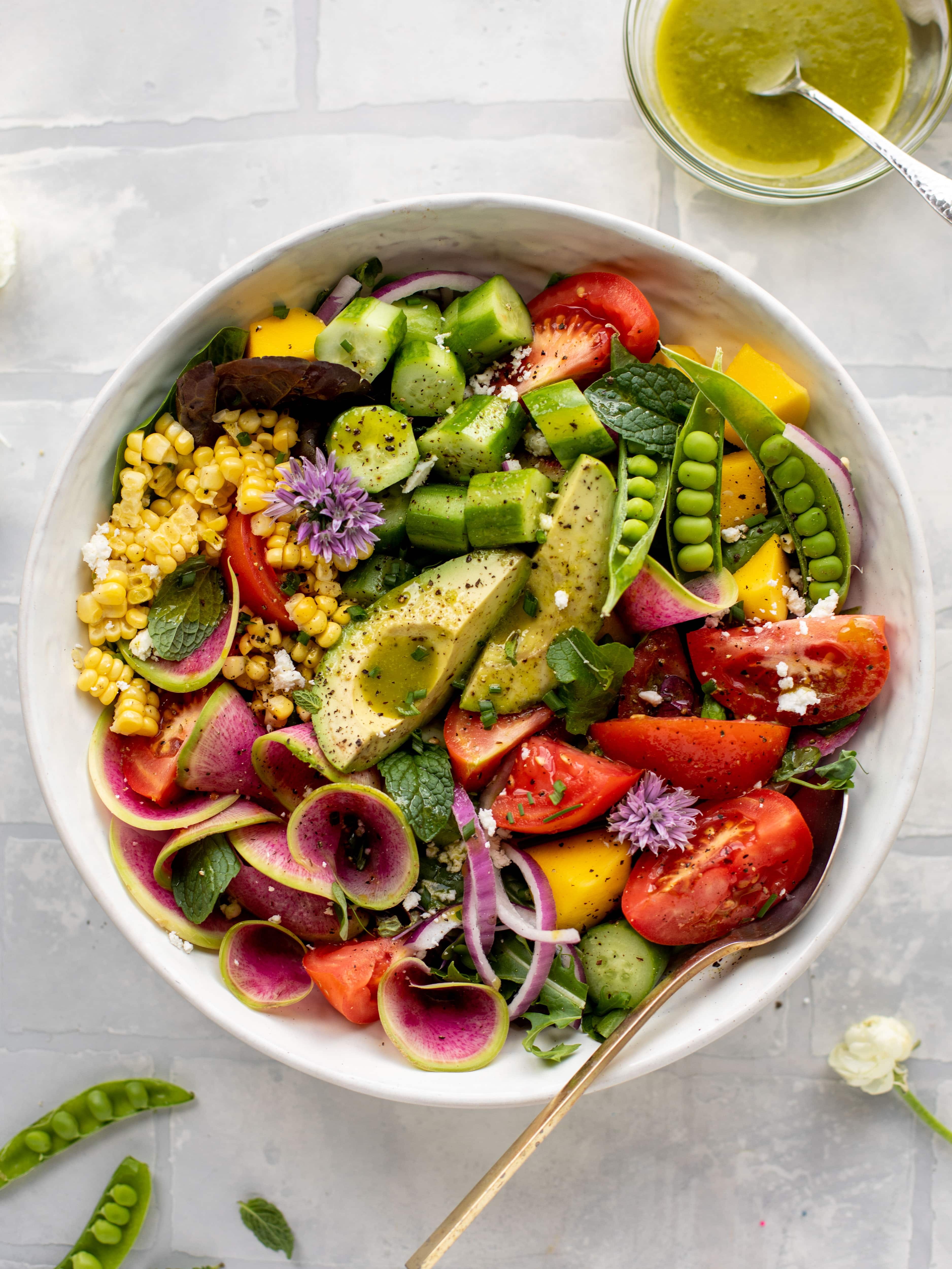 loaded summer house salad