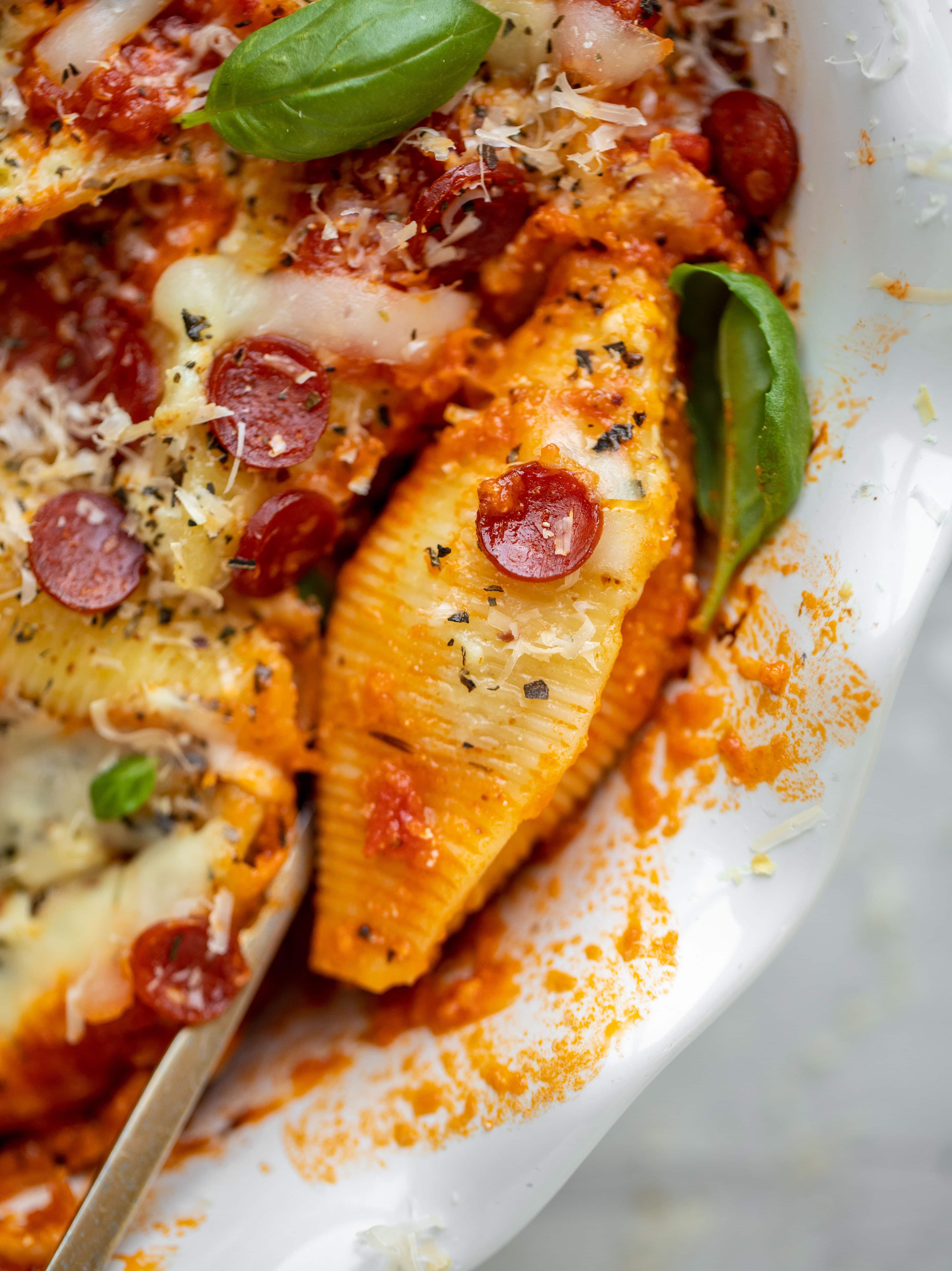 asiago pizza stuffed shells