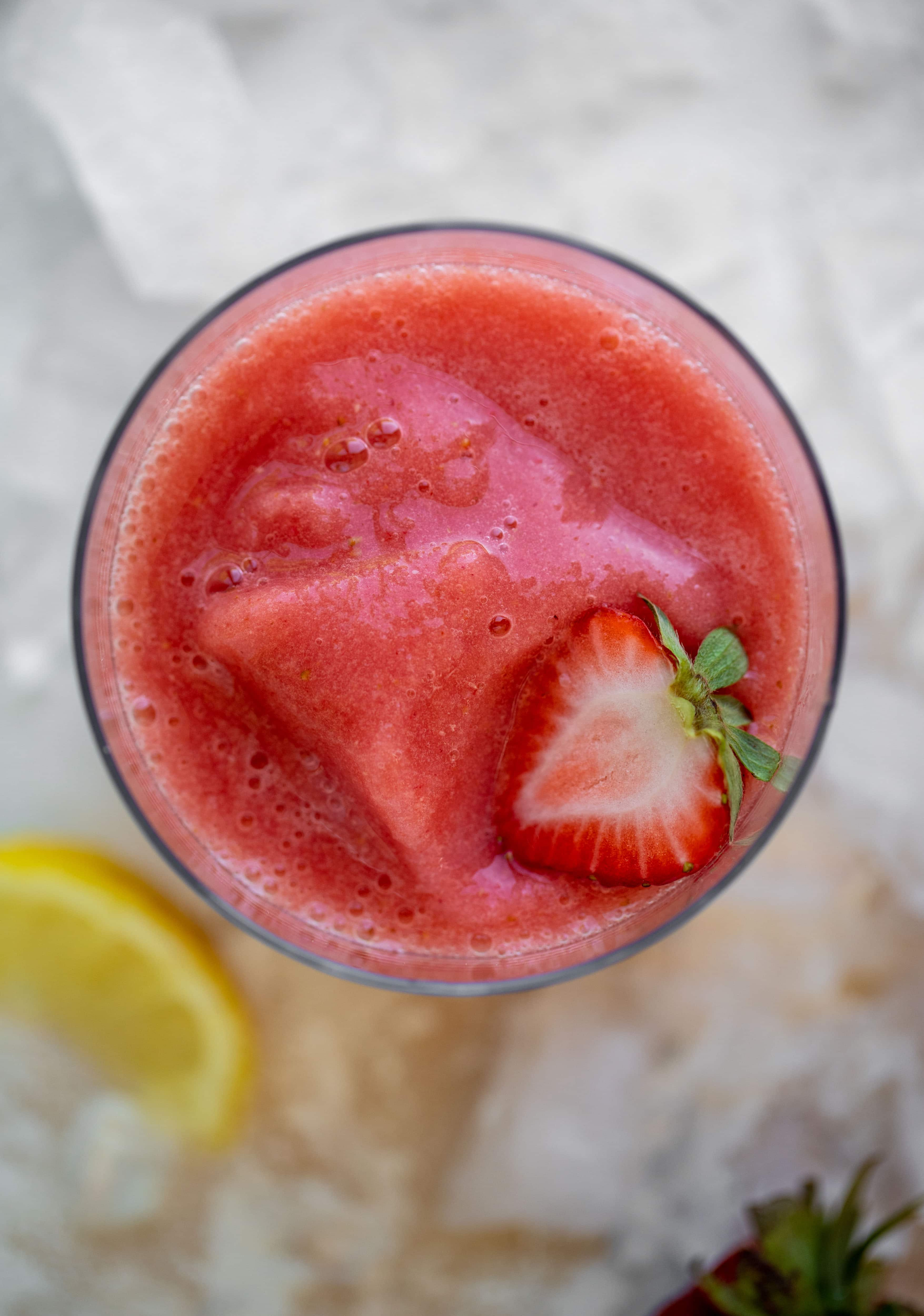 2 ingredient frozen strawberry lemonade