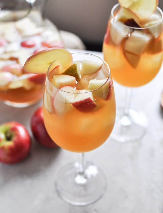 apple cider sangria and 25 of the best fall cocktails