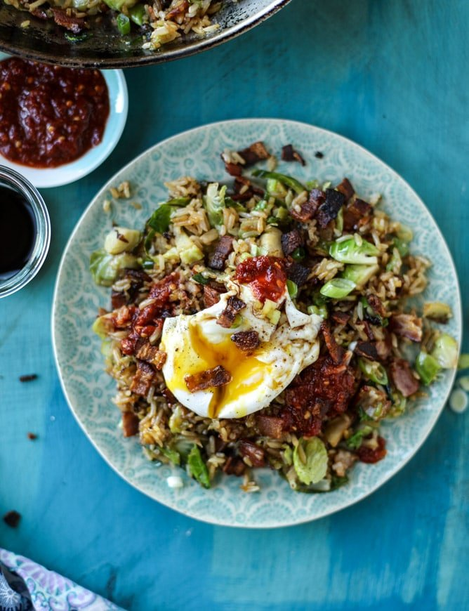 bacon brussels fried rice and 45 of the best fall dinner recipes