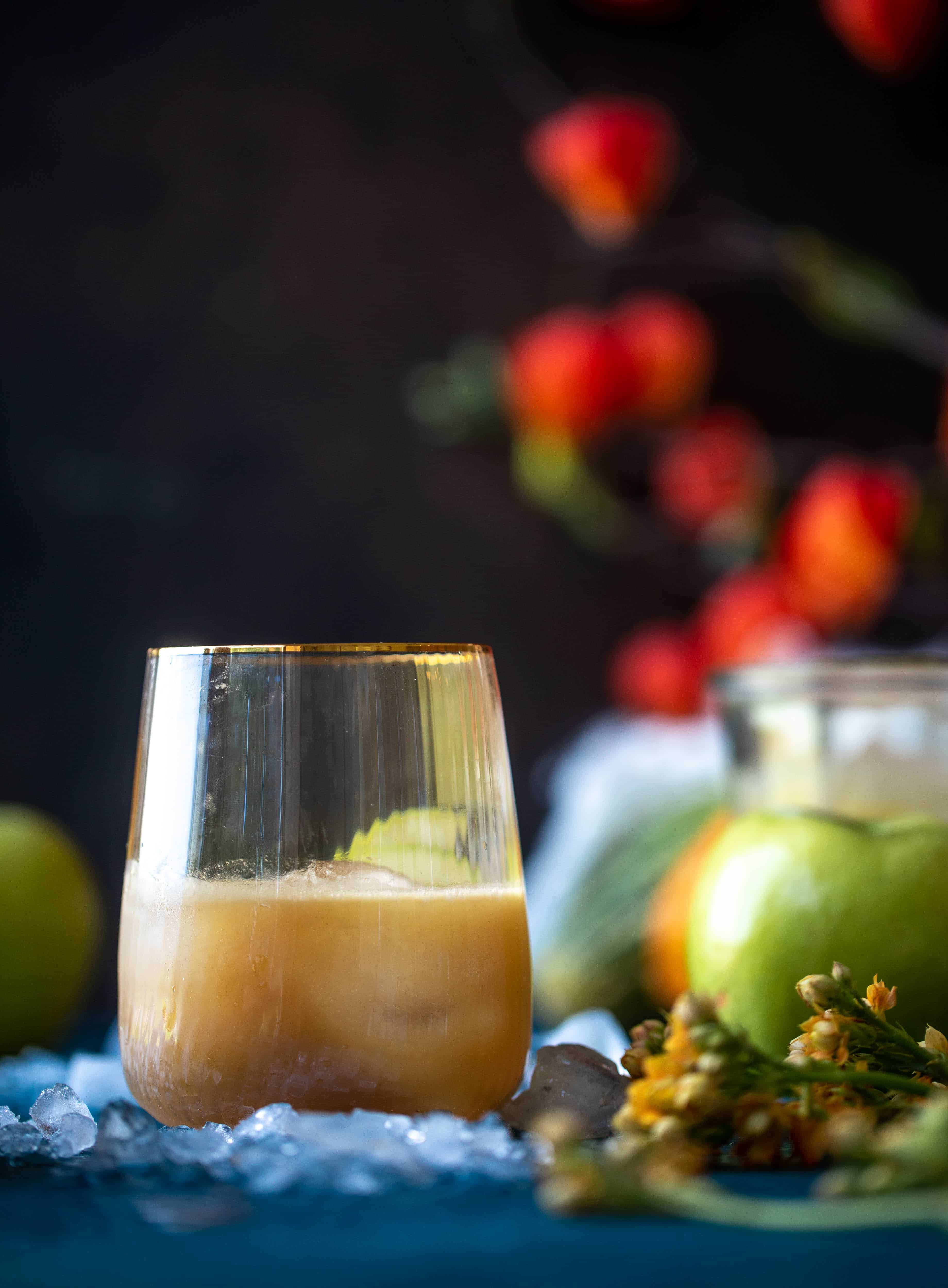 caramel apple old fashioned & 23 perfect halloween recipes