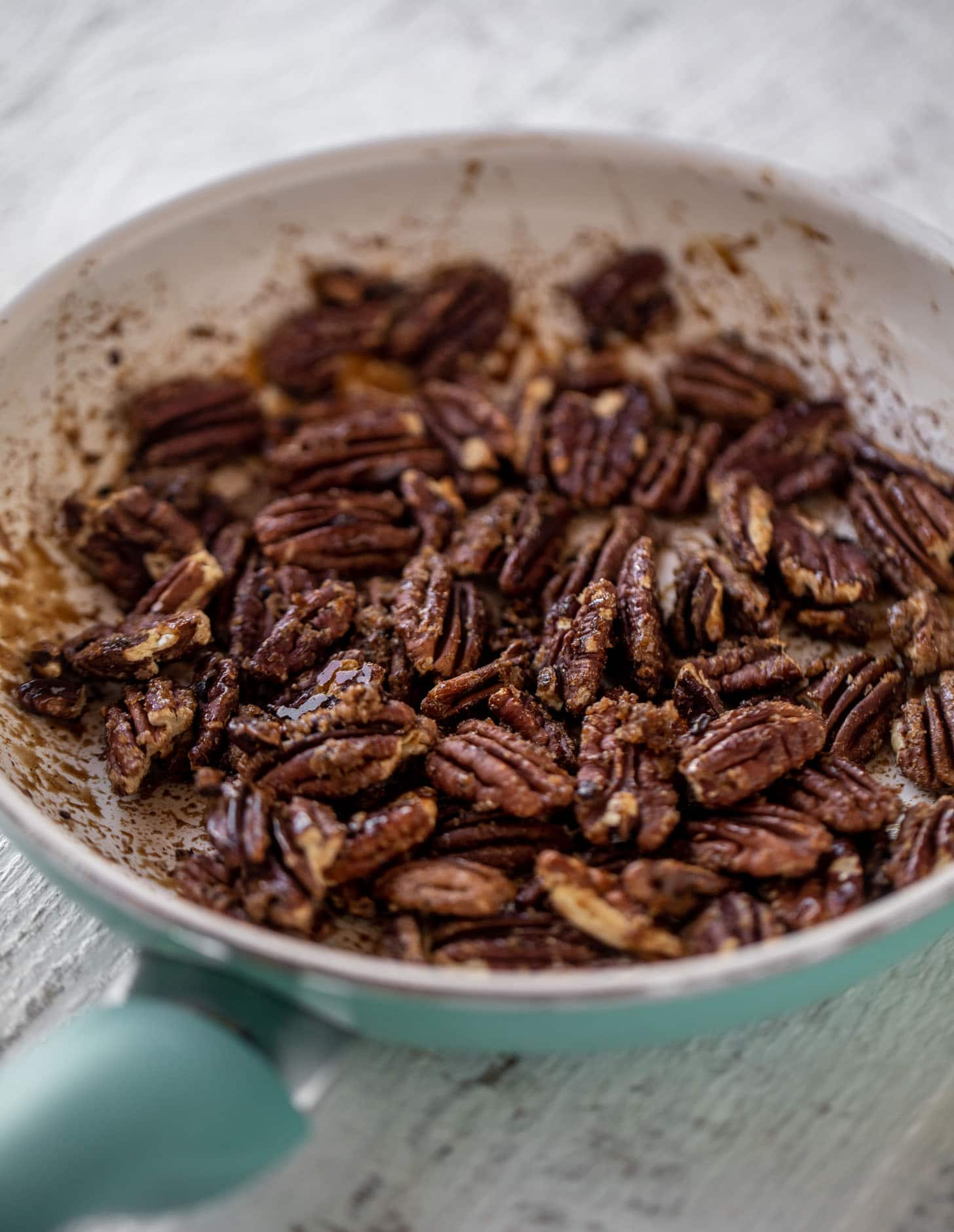 toasted brown sugar pecans