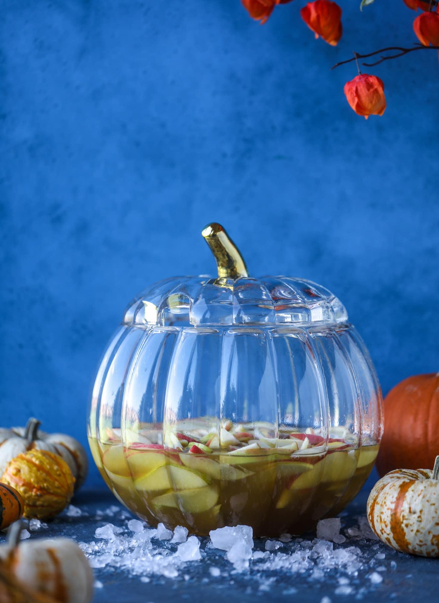 sangría de calabaza y 23 recetas perfectas de halloween