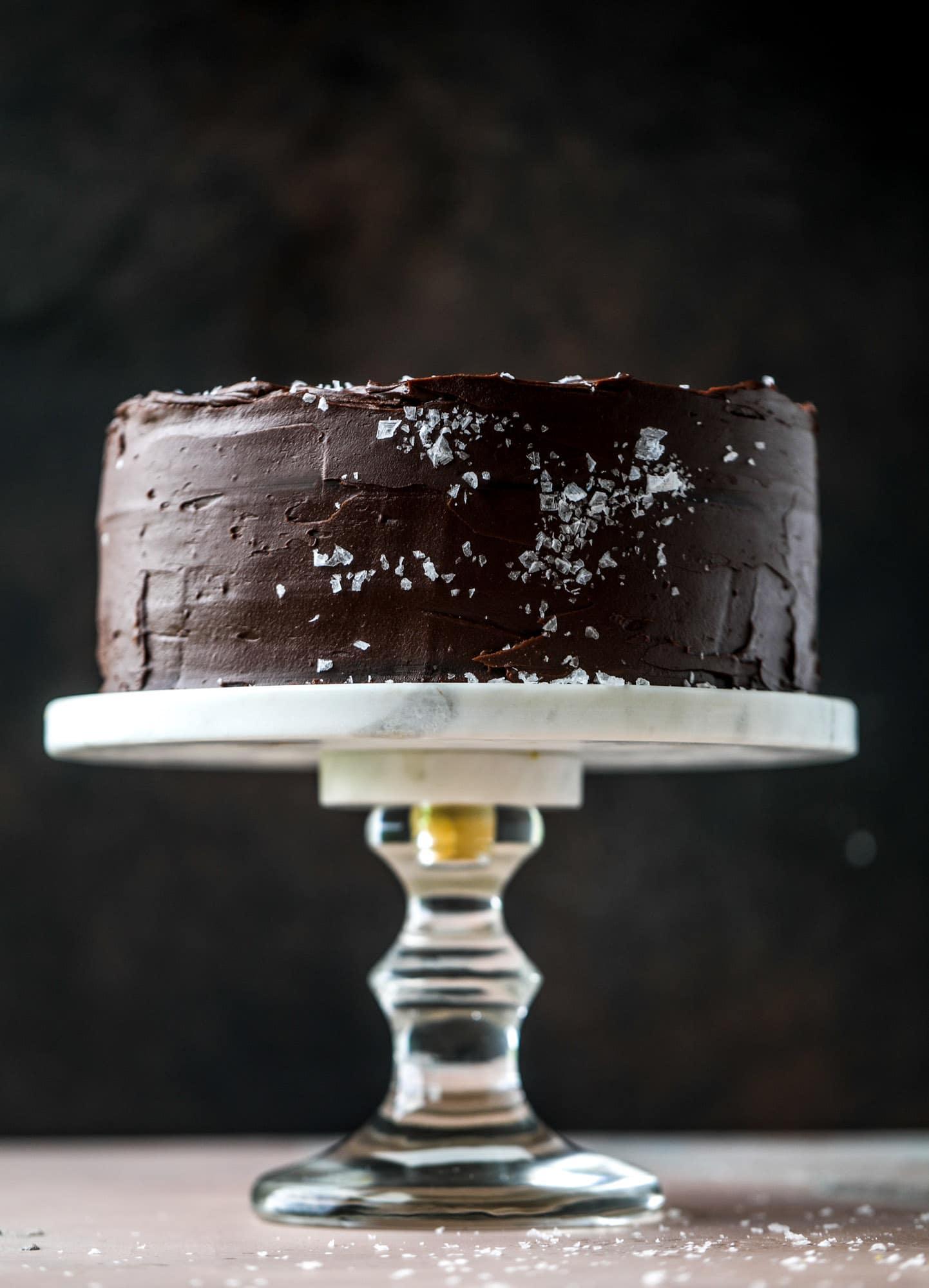 salted dark chocolate stout cake & 23 perfect halloween recipes