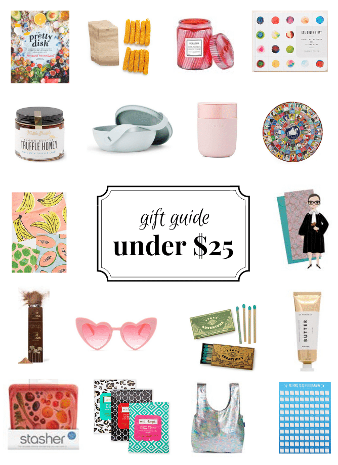 howsweeteats 2020 gift guide under $25