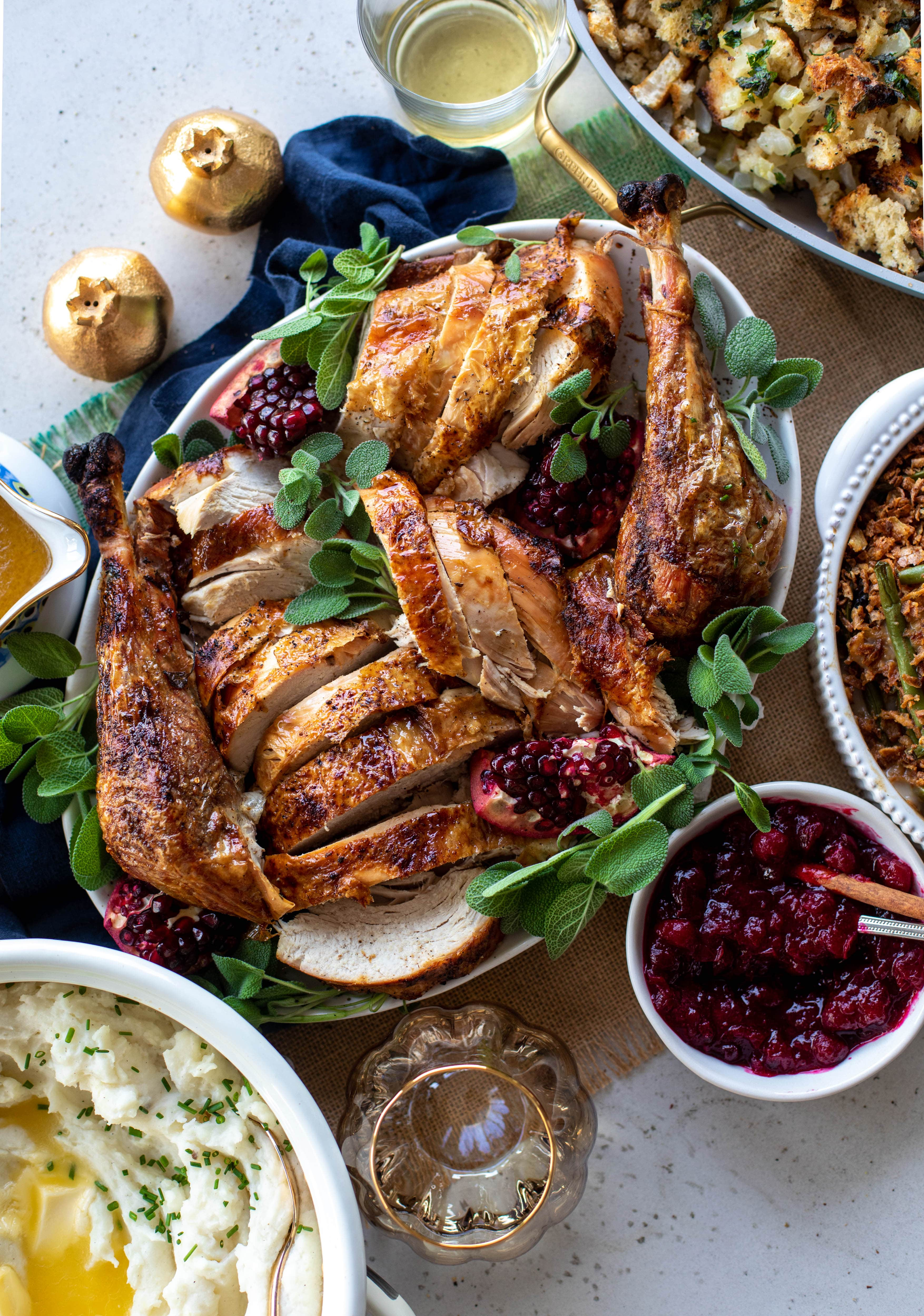 2020 Thanksgiving Menu and Timeline