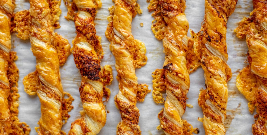 Smoky Chipotle Cheddar Twists (aka, The Easiest Appetizer for Thanksgiving!)