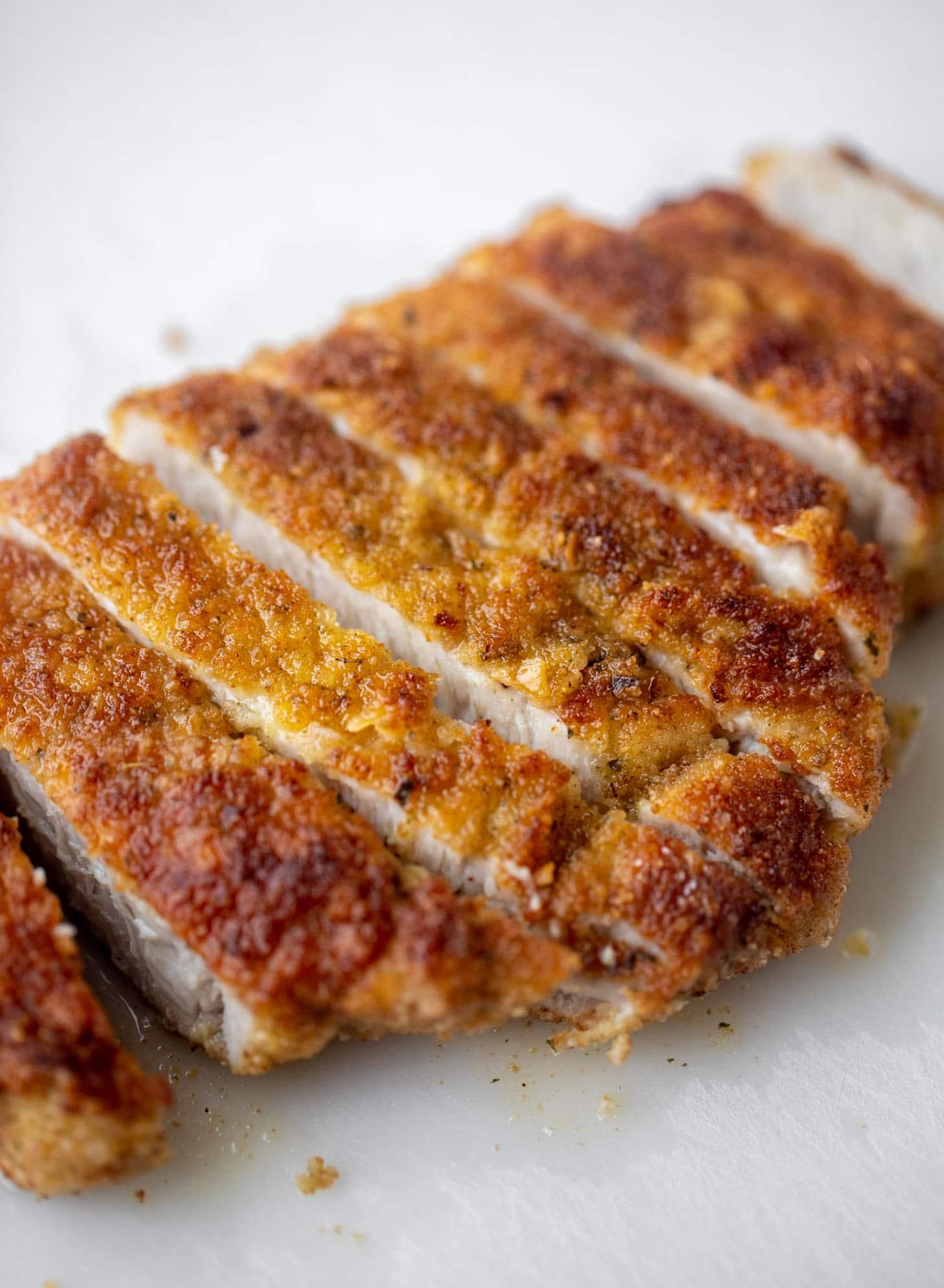 crispy pork milanese