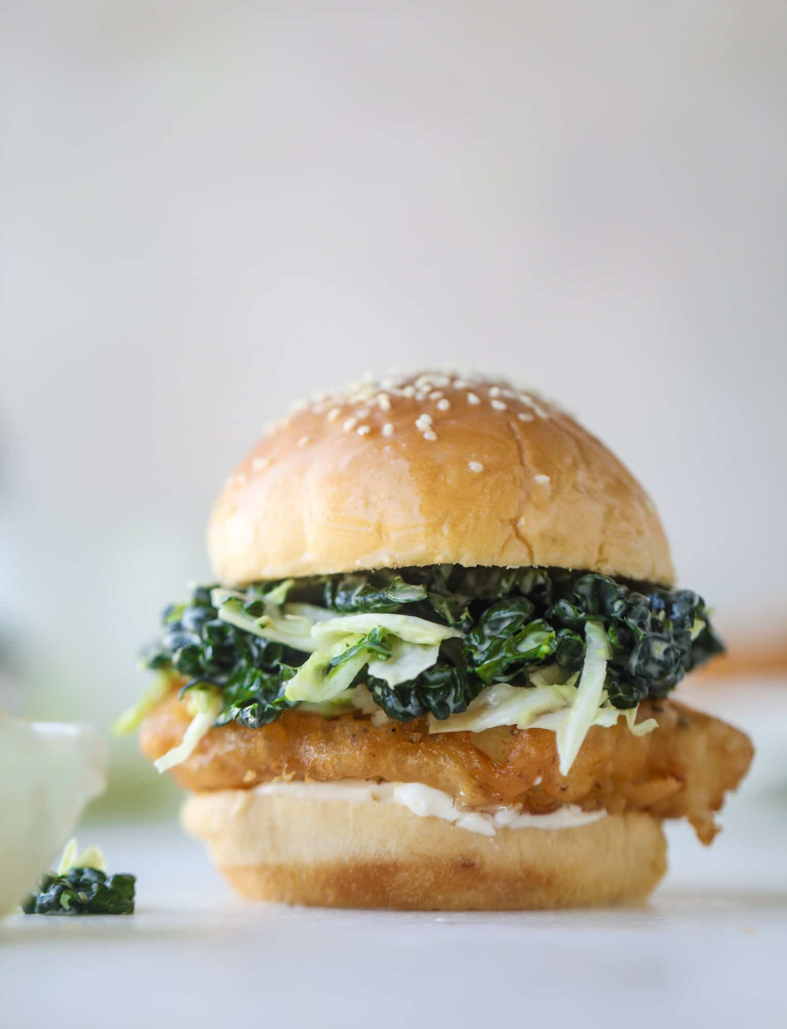 beer batted fish with kale coleslaw and 23 recipes for lent