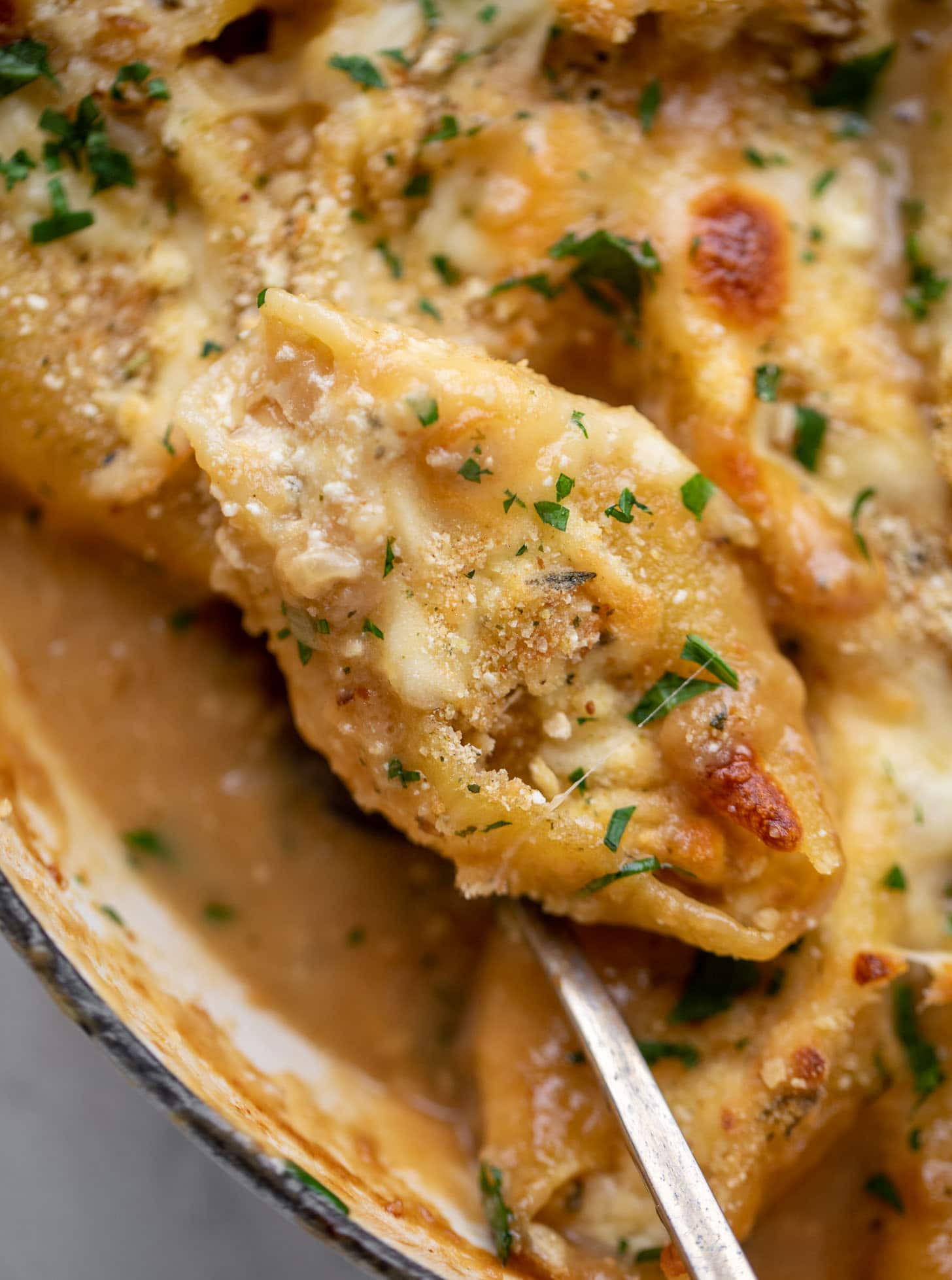 french onion stuffed shells