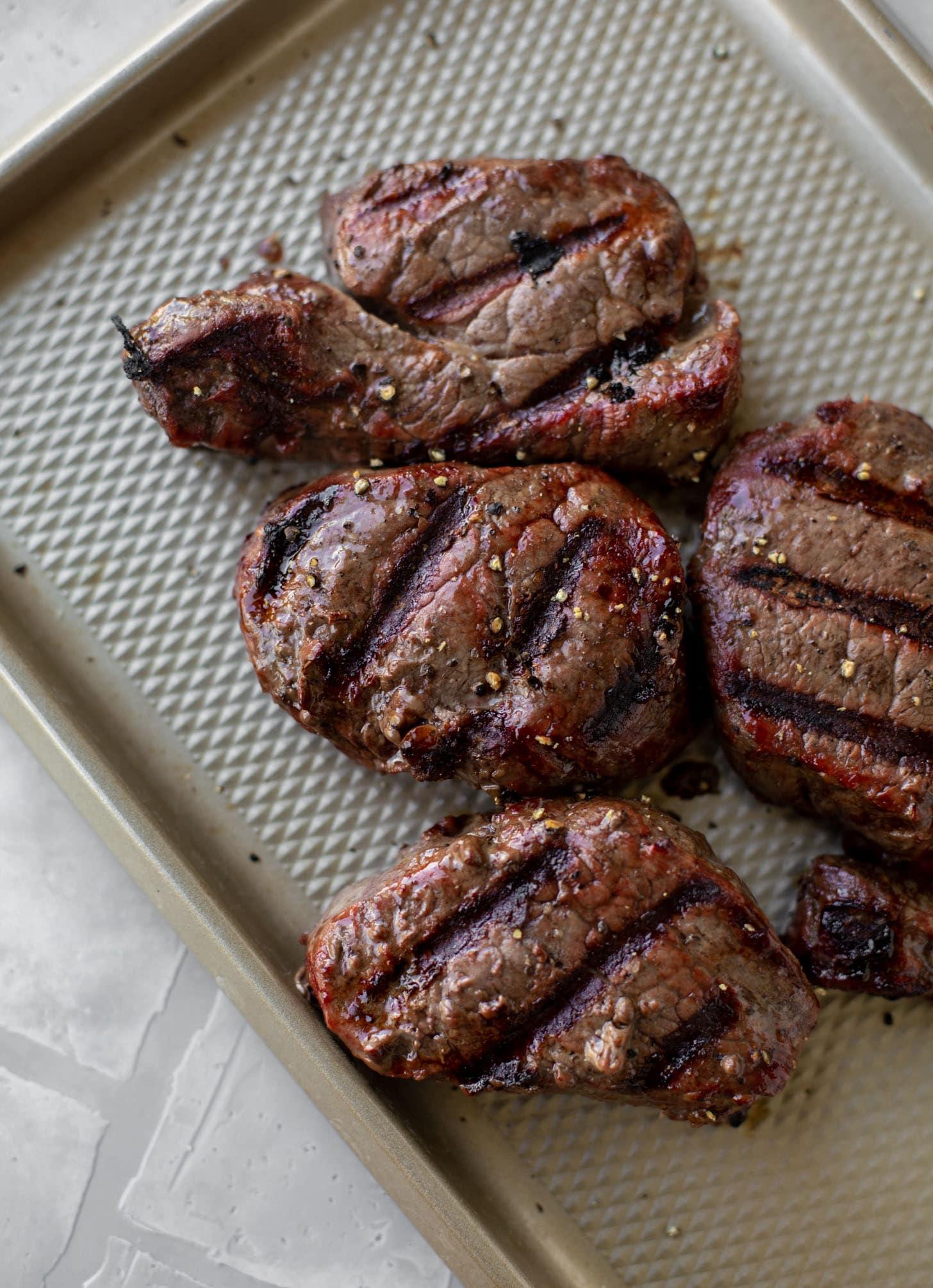 grilled filet