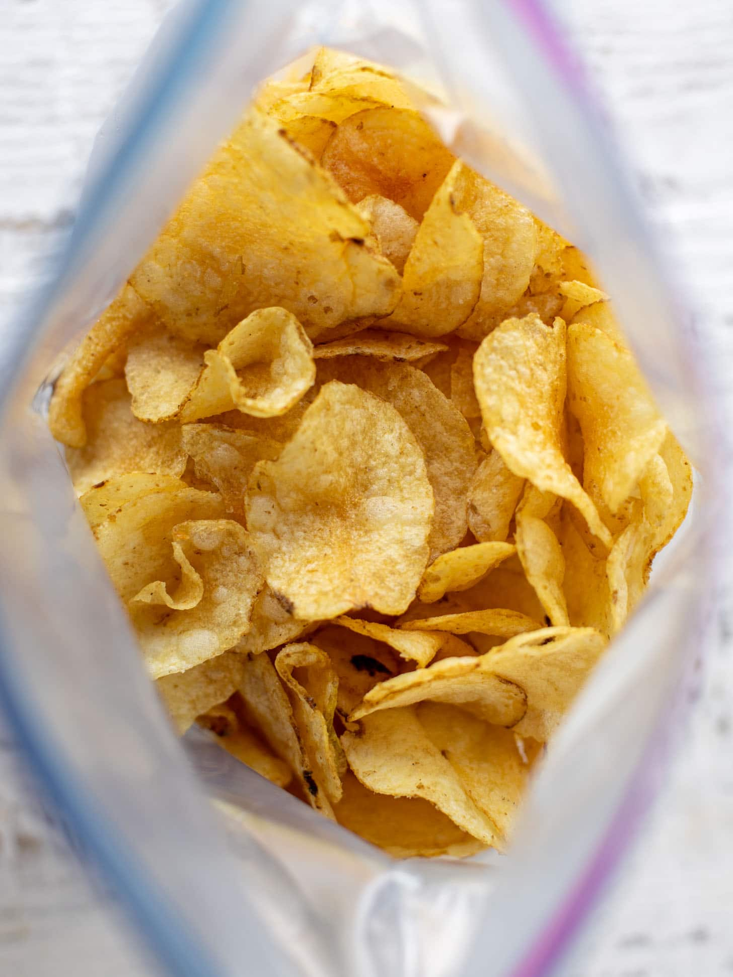 kettle cooked potato chips in a bag