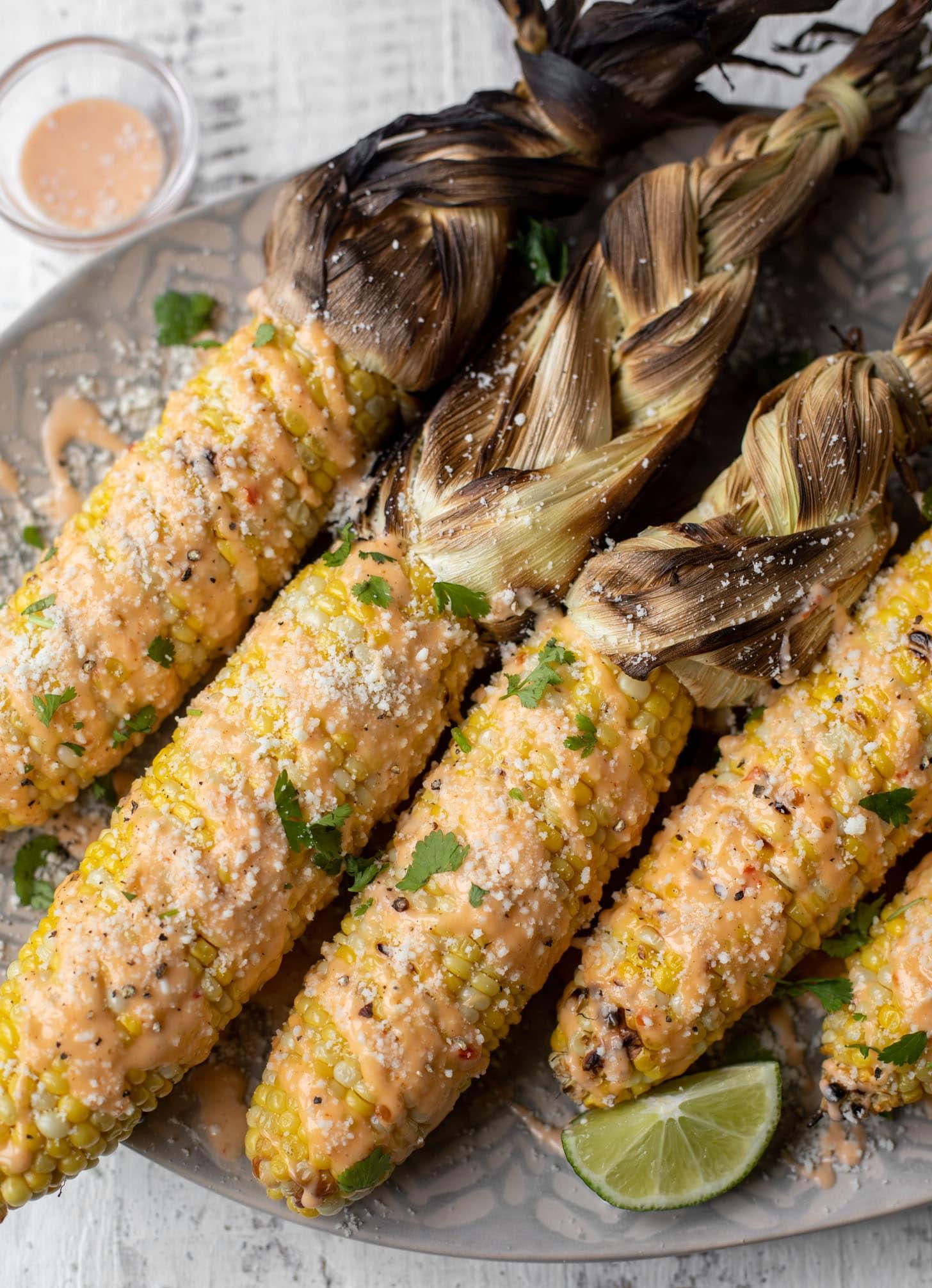 bang bang grilled corn