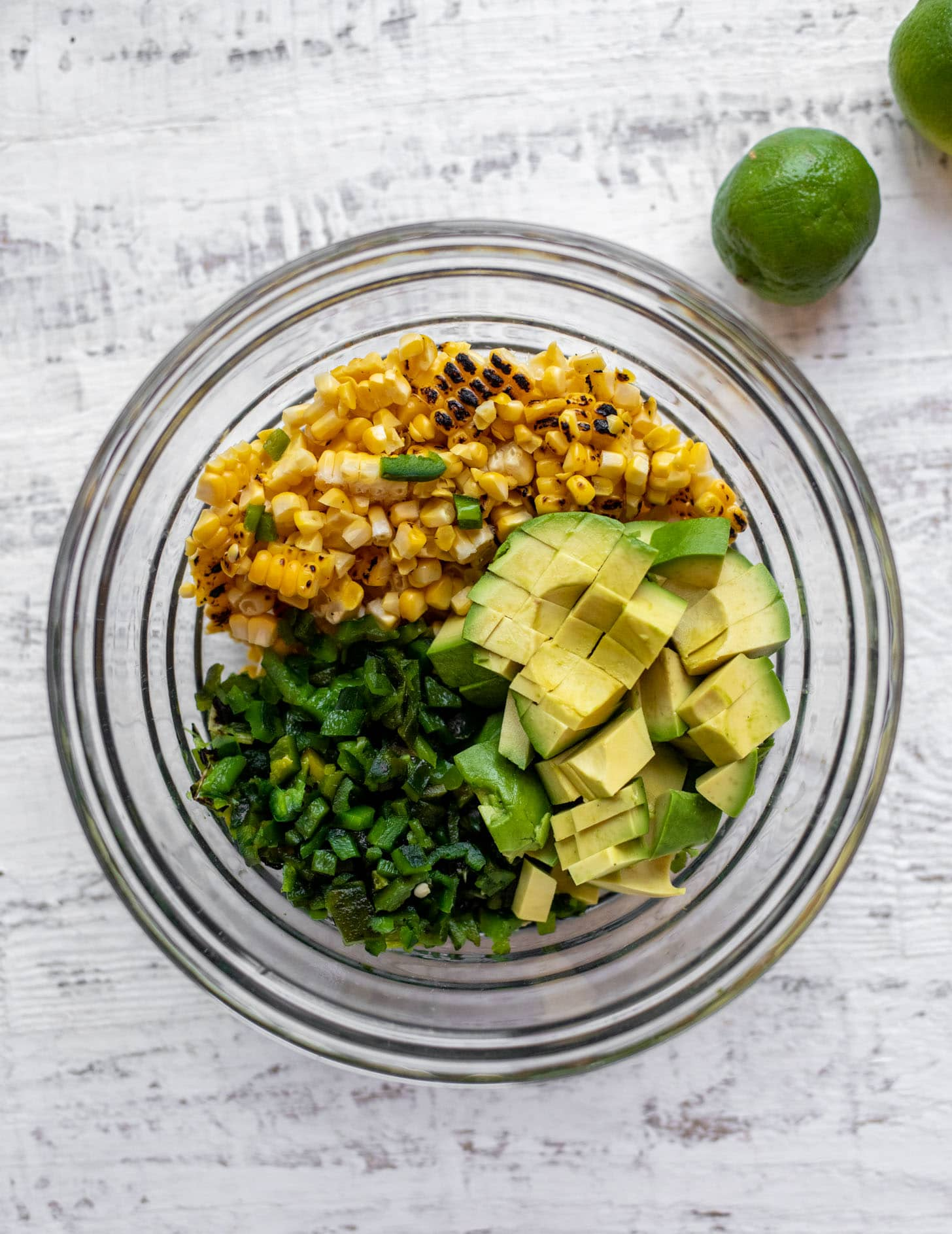 grilled corn poblano avocado salsa