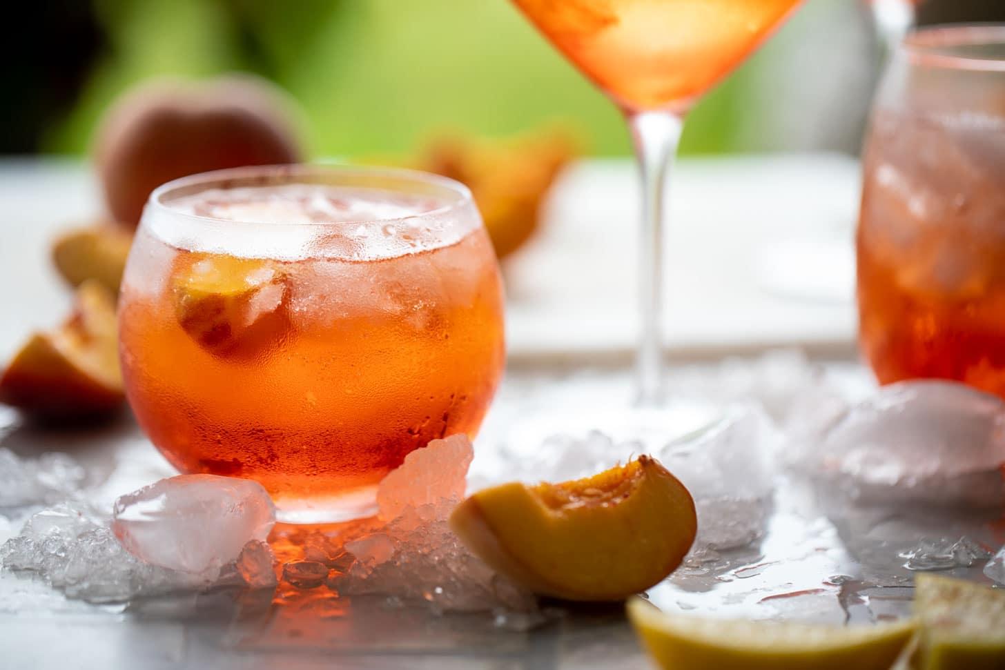 sparkling rosé aperol spritz